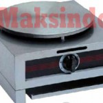 Jual Mesin Crepes Gas Double Pan (DE8Ax2) di Makassar