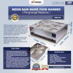 Jual Mesin Bain Marie Penghangat Makanan (EBM Type) di Makassar
