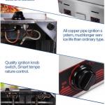 Jual Mesin Pemanggang Griddle (Gas) – MKS-GG720 di Makassar