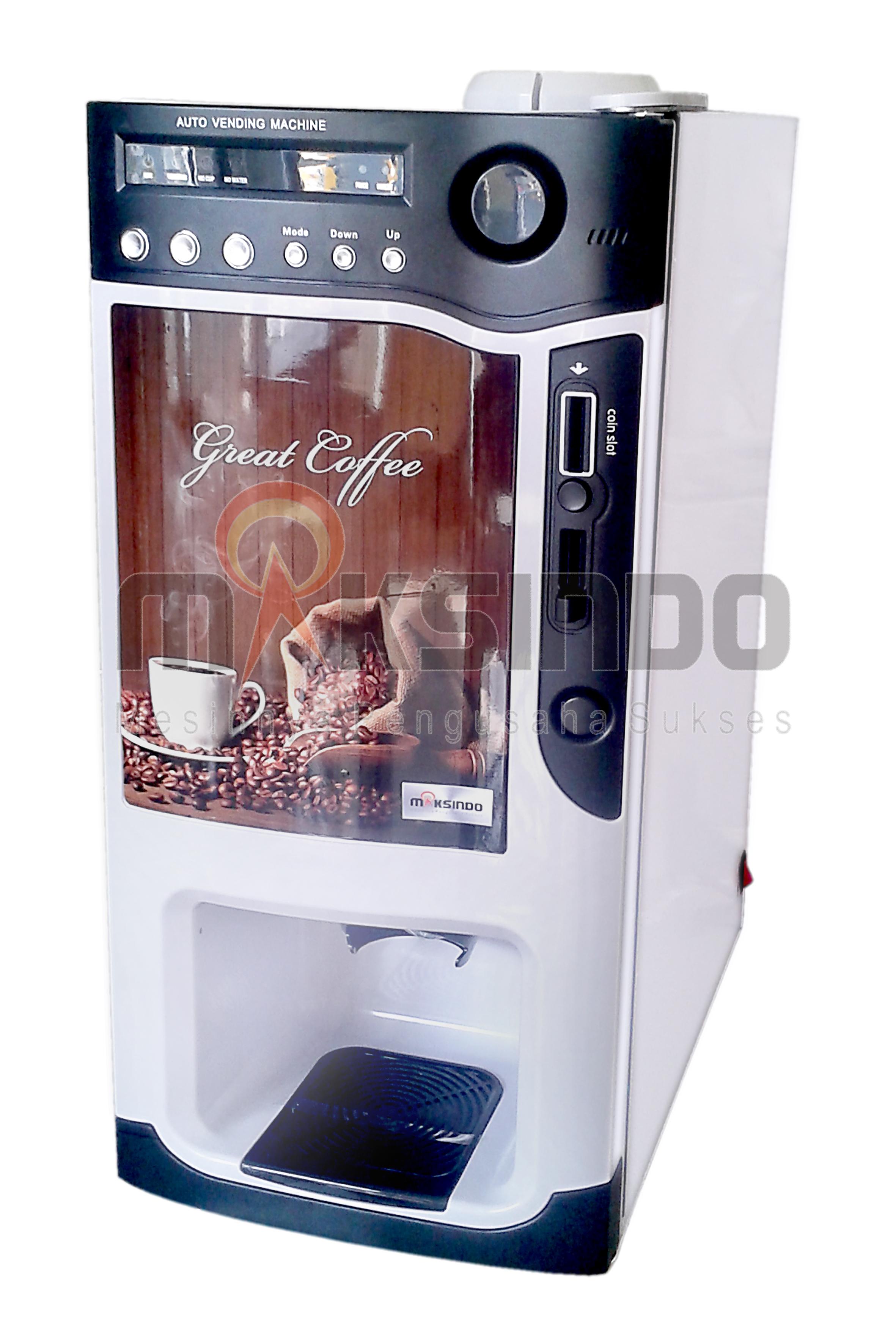 Jual Mesin Kopi Instant Auto Coffee Machine Mks Cv88 Di Makar