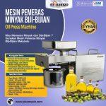 Jual Mesin Pemeras Minyak Biji-Bijian Di Makassar