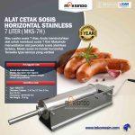 Jual Alat Cetak Sosis Horizontal Stainless 3 – 7 liter (MKS-3H) di Makassar