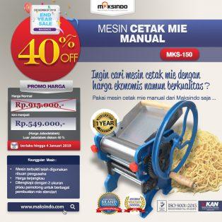 Jual Cetak Mie Manual Untuk Usaha (MKS-150) di Makassar