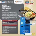 Jual Mesin Cetak Mie Industrial (MKS-350) di Makassar