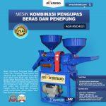 Jual Kombinasi Pengupas Beras dan Penepung di Makassar