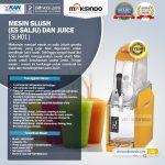Jual Mesin Slush (Es Salju) dan Juice – SLH01 di Makassar
