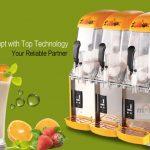 Jual Mesin Slush (Es Salju) dan Juice – SLH03 di Makassar