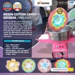 Jual Mesin Cotton Candy + Grobak di Makassar