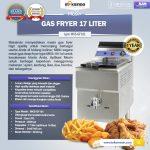 Jual Mesin Gas Fryer 17 Liter (MKS-181) di Makassar