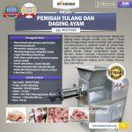 Jual Pemisah Tulang Dan Daging Ayam PTA-300 di Makassar