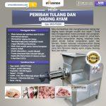 Jual Pemisah Tulang dan Daging Ayam PTA500 di Makassar