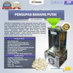 Jual Mesin Pengupas Bawang Putih (BWG180) di Makassar