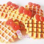 Jual Mesin Waffle Bentuk Hello Kitty (Kitty2) di Makassar