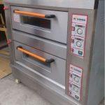 Jual Mesin Oven Roti Gas 2 Rak 4 Loyang (GO24) di Makassar