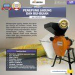 Jual Mesin Penepung Jagung dan Biji-Bijian (MD15) di Makassar