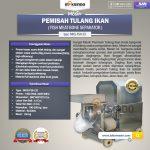Jual Mesin Pemisah Tulang Ikan (FSH33) di Makassar