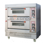 Mesin Oven Roti Gas 4 Loyang (MKS-RS24)