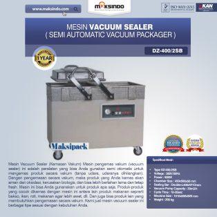 Jual Mesin Vacuum Sealer (DZ400/2SB) di Makassar