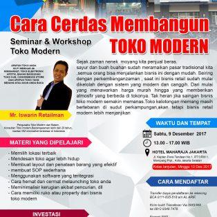 Seminar Workshop Toko Modern, 9 Desember 2017