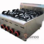 Jual Counter Top 4-Burner Gas Range di Makassar