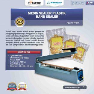 Jual Mesin Hand Sealer MSP-400A di Makassar