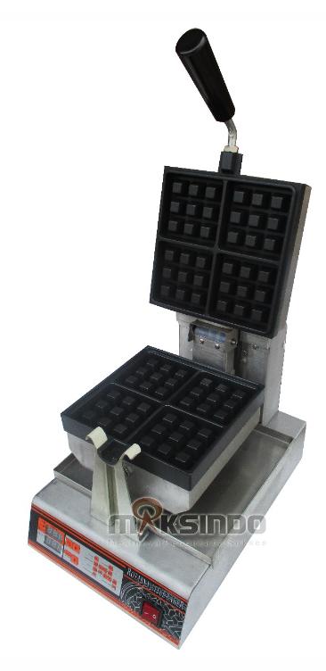 Jual Mesin Waffle Bentuk Kotak (WF-60) di Makassar