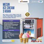 Jual Mesin Es Krim 3 Kran (ICM-919) di Makassar