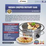 Jual Mesin Crepes Rotary Gas (MKS-CRP60) di Makassar