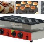 Jual Mesin Pembuat Snack Mini Pancake Poffertjes MKS-CRIP50 (listrik) – Listrik di Makassar