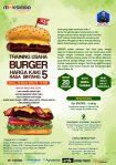 Training Usaha Burger , 10 Maret 2018