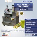 Jual Mesin Pemeras Tebu Listrik (MKS-TB300) di Makassar