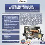Jual Mesin Kambing Guling BBQ Roaster (GRILLO-LMB33) di Makassar