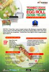 Training Usaha Varian Egg Roll ( SOSIS TELUR ), 30 April 2018