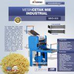 Jual Mesin Cetak Mie Industrial (MKS-800) di Makassar