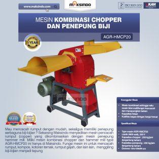 Jual Mesin Kombinasi Chopper dan Penepung Biji (HMCP20) di Makassar