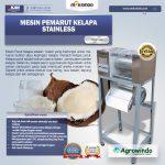 Jual Mesin Pemarut Kelapa Stainless PRT-125 di Makassar