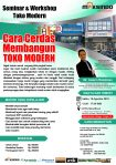 Seminar Workshop Toko Modern, Sabtu, 18 Agustus 2018