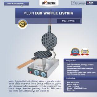 Jual Mesin Egg Waffle Listrik (EW06) di Makassar