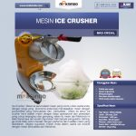 Jual Mesin Ice Crusher MKS-CRS30L di Makassar