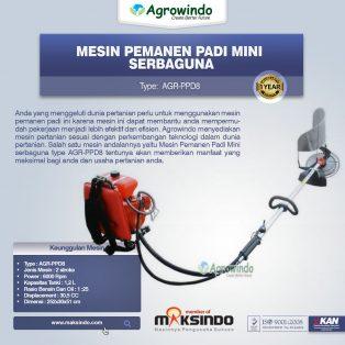 Jual Mesin Pemanen Padi Mini Serbaguna di Makassar
