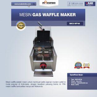 Jaul Mesin Gas Waffle Maker MKS-WF48 di Makassar
