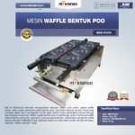 Jual Mesin Waffle Bentuk Poo (MKS-POO4) di Makassar