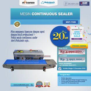 Jual Continuous Band Sealer MSP-770IB di Makassar
