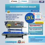 Jual Mesin Continuous Band Sealer MSP-770IIB di Makassar