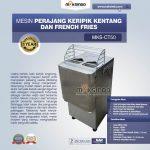 Jual Mesin Perajang Keripik Kentang dan French Fries MKS-CT50 di Makassar