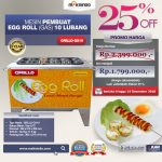 Jual Egg Roll Gas 10 Lubang GRILLO-GS10 di Makassar