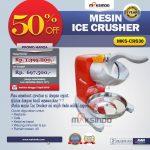 Jual Mesin Ice Crusher MKS-CRS30 di  Makassar
