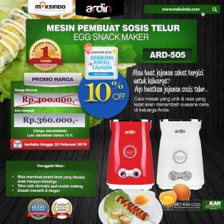 Jual Mesin Sosis Telur 2 Lubang ARDIN ARD-505 di Makassar