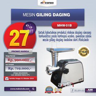 Jual Mesin Giling Daging (Meat Grinder) MHW-G51B di Makassar