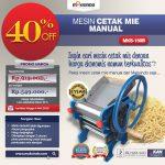 Jual Cetak Mie Manual Untuk Usaha (MKS-150B) di Makassar